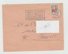 LSC 1966 - Flamme Musée De L'automobile  Circuit Des 24 HEURES Le MANS - Cachet LE MANS Gare  (SARTHE) - Marcophilie (Lettres)