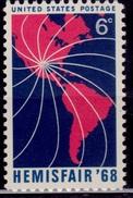 United States, 1968, Hemisfair '68 Exhibit, 5c, Sc#1340, MNH - Etats-Unis