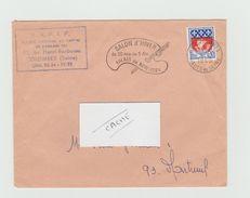 LSC 1965 - Flamme SALON D'HIVER Palais De New York - Marcophilie (Lettres)