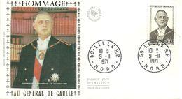"""175 """" HOMMAGE AU GENERAL DE GAULLE """" - 1970-1979"""
