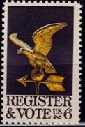 United States, 1968, Register And Vote, 6c, Sc#1344, MNH - Etats-Unis