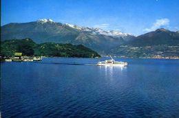 Lago Di Como - Colico - Scorcio Panoramico - Aliscafo - 8 - Formato Grande Viaggiata – E 3 - Como