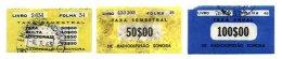 PORTUGAL, Radio Licence, PB 9/10, F 3 - Revenue Stamps