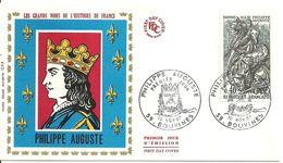 """187 """" LE GRANDS NOMS DE L'HISTOIRE DE FRANCE - PHILIPPE AUGUSTE """" - 1960-1969"""