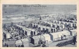 BLANKENBERGHE - Cabines Et Tentes à La Plage. - Blankenberge