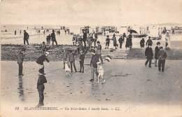 BLANKENBERGHE - Un Brise-lames à Marée Basse. - Blankenberge