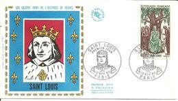 """191 """" LES GRANDS NOMS DE L'HISTOIRE DE FRANCE - SAINT LOUIS """" - 1960-1969"""