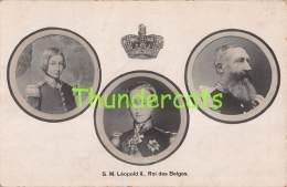 CPA S M LEOPOLD II ROI DES BELGES - Familles Royales