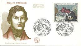 """195 """" HONORE' DAUMIER - PEINTRE ET CARICATURISTE FRANCAIS"""" - 1960-1969"""