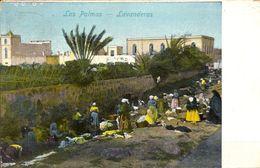 TARJETA POSTAL CIRCULADA , LAS PALMAS - LAVANDERAS , AÑO 1912 - Gran Canaria