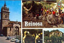TARJETA POSTAL CIRCULADA ,  CANTABRIA , REINOSA - Cantabria (Santander)