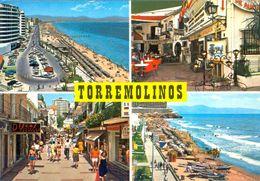 TARJETA POSTAL CIRCULADA ,  MÁLAGA - TORREMOLINOS - Málaga