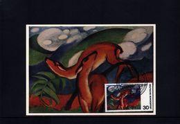 Germany 1974  Interesting Paintings Maximumcard - [7] Federal Republic