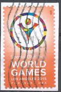 United States 2015. Scott #4986 (U) Special Olympics World Games Emblem - United States