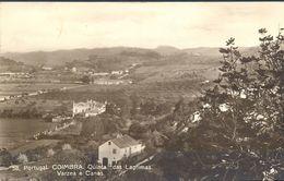 PORTUGAL - TARJETA POSTAL CIRCULADA , AÑO 1929 , COIMBRA , QUINTA DAS LAGRIMAS , VARZEA E CANAS - Coimbra