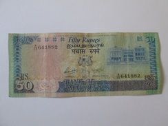 Mauritius 50 Rupees 1986 Banknote - Maurice