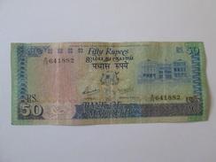 Mauritius 50 Rupees 1986 Banknote - Mauritius
