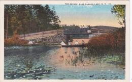New York East Caroga Lake The Bridge Curteich
