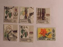 MALAISIE  (Wilayah / Perak) 1979-86  Lot # 29 - Malaysia (1964-...)
