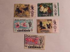 MALAISIE  ( Perak) 1965-71  Lot # 30 - Malaysia (1964-...)