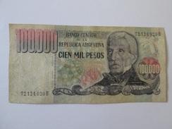Argentina 100 000 Pesos 1979-1983 Banknote - Argentine