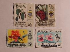 MALAISIE  ( Penang / Pahang) 1965-86  Lot # 32 - Malaysia (1964-...)