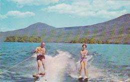 New York Lake George Water Skiing 1967