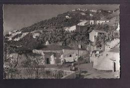 CPSM ESPAGNE - GRENADE -GRANADA - Cuevas De Gitanos - Vista Parcial - TB PLAN D'une Partie Des Habitations Animation - Granada