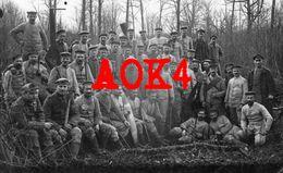 55 Meuse Argonne STENAY Feldpoststation 94 1916 Verdun Travail Bois Scie Drillich Rekruten Bataillon XVI Armeekorps - Weltkrieg 1914-18