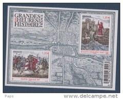 2012-N°F4704**(4704/4705) GRANDES HEURES DE L'HISTOIRE DE FRANCE - France