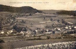 88 - Lépange - Vue Générale Avec Le Coteau - La Bure - France