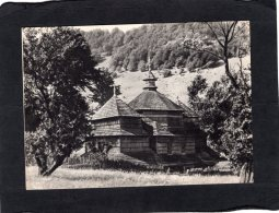 "74459    Ucraina,   St. Nicolas"" Church 1655,  Transcarpathian Region,  Perechin District,  Vil.  Husniy,  NV - Ukraine"