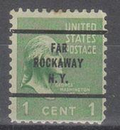 USA Precancel Vorausentwertungen Preo, Bureau New York, Far Rockaway 804-63 - United States