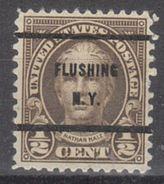 USA Precancel Vorausentwertungen Preo, Bureau New York, Flushing 653-61 - United States
