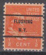 USA Precancel Vorausentwertungen Preo, Bureau New York, Flushing 803-71 - United States
