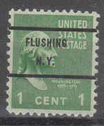 USA Precancel Vorausentwertungen Preo, Bureau New York, Flushing 804-71 - United States