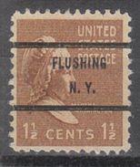 USA Precancel Vorausentwertungen Preo, Bureau New York, Flushing 805-71 - United States