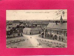 80 Somme, Corbie, Vue Vers La Gare Et La Neuville, église, 1916, (Lucien Bleux) - Corbie