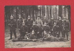 Dresden  --  Carte Photo  -- Soldats Allemands En Uniforme  - 8/2/1916 - Dresden