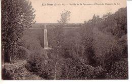 DINAN: Vallée De La Fontaine Et Pont Du Chemin De Fer - Dinan