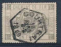 "BELGIE - OBP Nr TR 6 - Cachet Hexagonal  ""COURTRAI"" - (ref. 17.685) - Afgestempeld"