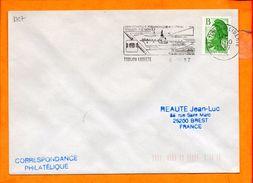 VAR, Toulon, Flamme SCOTEM N° 8727, XXXIe Congres Philatelique Regional, 7-8 Nov. 87 - Sellados Mecánicos (Publicitario)