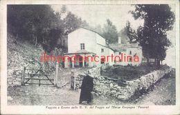 Bc343 - Faggeta E Eremo Della B.v. Del Foggio Sul Monte Carpegna-pesaro-1927 - Pesaro