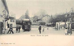 ROLLE - Place Du Port. - VD Vaud