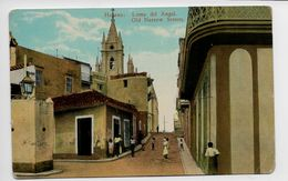 HABANA - LOMA DEL ANGEL - OLD NARROW STREETS - Cuba