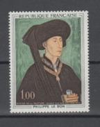 FRANCE / 1969 / Y&T N° 1587 ** : Philippe Le Bon (De La Pasture) X 1 - Neufs