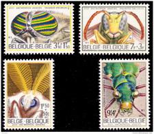 Belgium 1610/13**  Insectes  MNH - Neufs