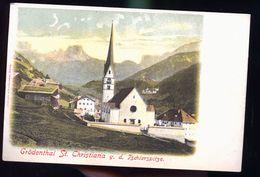 GRODENTHAL SAINT CHRISTINA - Suisse