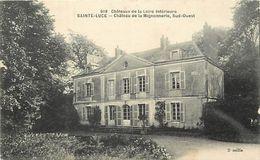 - Dpts Div.-ref-WW77- Loire Atlantique - Sainte Luce - Ste Luce - Chataeu De Lamignonnerie (sud Ouest ) - Chateaux - - Otros Municipios