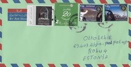 GOOD UAE Postal Cover To ESTONIA 2016 - Good Stamped: Dubai Tour ; Court - Verenigde Arabische Emiraten